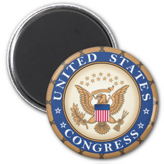 US Congress Seal Magnet