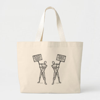 US Constitution: Article 6 & 8 Jumbo Tote Bag