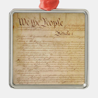 US CONSTITUTION CHRISTMAS ORNAMENT