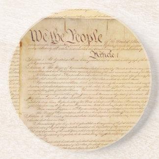 US CONSTITUTION COASTER
