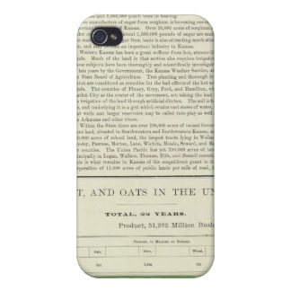 US Corn, Wheat, and Oats, 1870-1891 iPhone 4 Cover