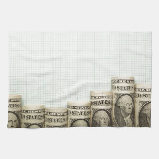 US currency uptrend graph Towel