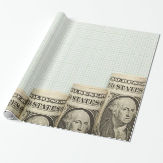 US currency uptrend graph Wrapping Paper