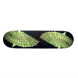 US Dollars American Money Skateboard