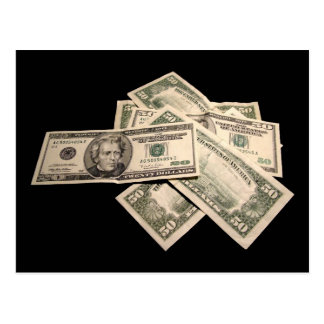 US Dollars Post Card