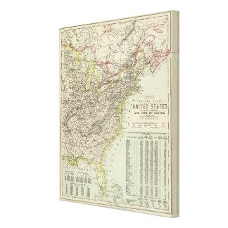 US Eastern Canvas Print
