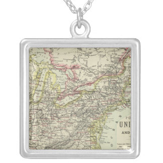 US Eastern Silver Plated Necklace