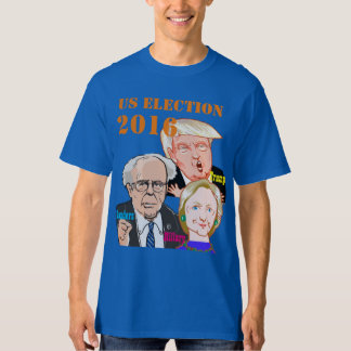US Election- Trump.Sanders.Hillary. T-Shirt