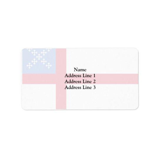 Us Episcopal Church, religious Address Label