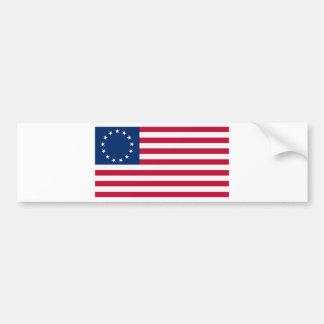 US flag 13 stars Betsy Ross Bumper Sticker