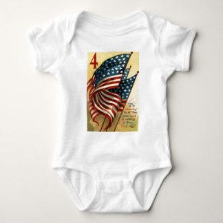 US Flag 4th of July Tshirt
