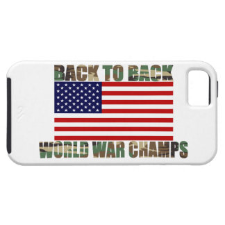 US Flag Camo World War Champs iPhone 5 Case