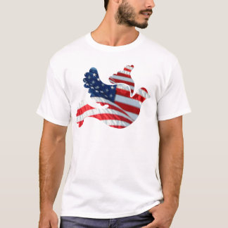 US Flag Dove T-Shirt