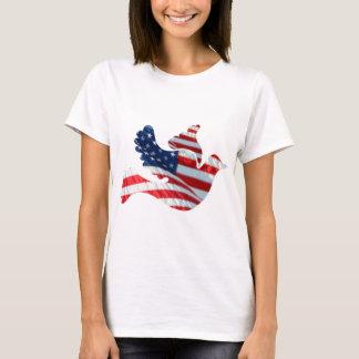 US Flag Dove T-Shirt