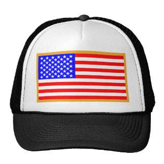 US Flag Mesh Hats