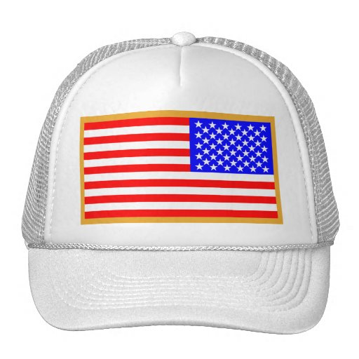 US Flag Mesh Hat