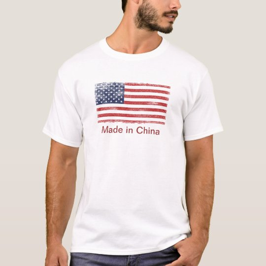 US flag made in China T-Shirt