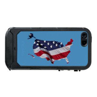 US Flag Map Incipio ATLAS ID™ iPhone 5 Case