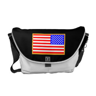 US Flag Courier Bags