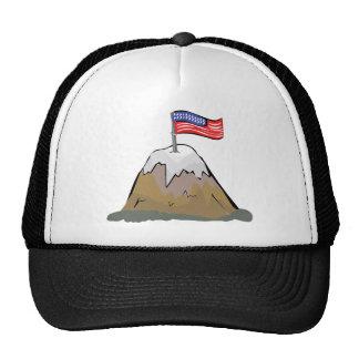 US Flag Mounting Mesh Hats