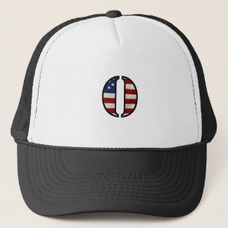 "US Flag ""O"" Trucker Hat"