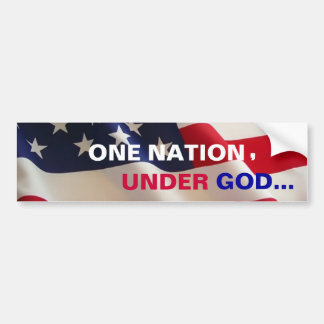 "US FLAG  ""OLD GLORY""  Bumper Sticker"