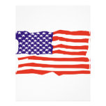 US Flag Personalized Flyer
