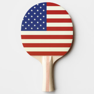 US FLAG Ping-Pong Paddle