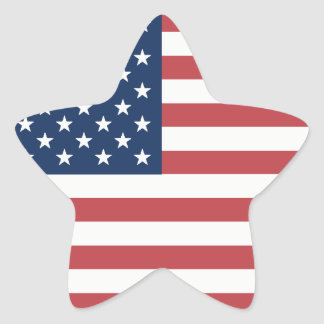 US Flag star stickers