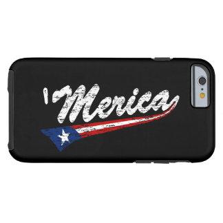 US Flag Style Swoosh 'MERICA iPhone 6 case