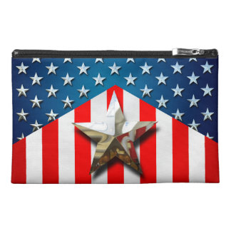 US Flag Travel Accessory Bags