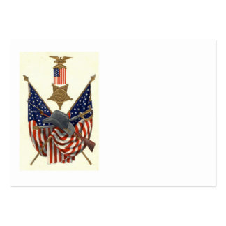 US Flag Union Civil War Medal Eagle Pack Of Chubby Business Cards