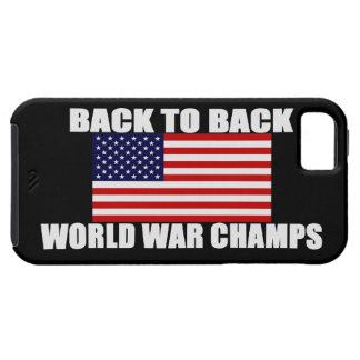 US Flag World War Champs iPhone 5 Case