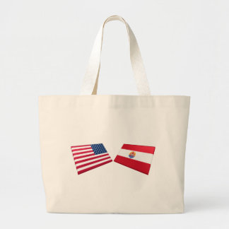 US French Polynesia Flags Bag