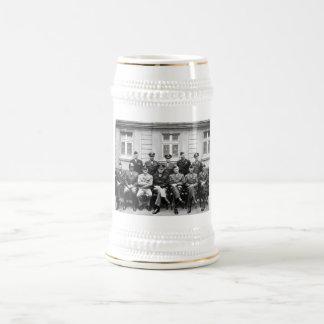 US Generals WWII -- Ike, Patton, Bradley Beer Steins