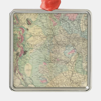 US geological map Christmas Ornament