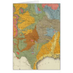 US Geological Map Greeting Card