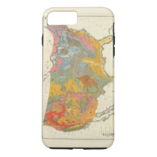 US Geological Map iPhone 8 Plus/7 Plus Case