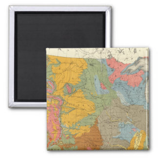 US Geological Map Magnet