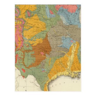 US Geological Map Postcard