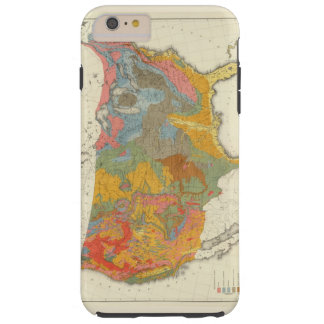 US Geological Map Tough iPhone 6 Plus Case