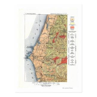 US Geological Survey Map Postcard