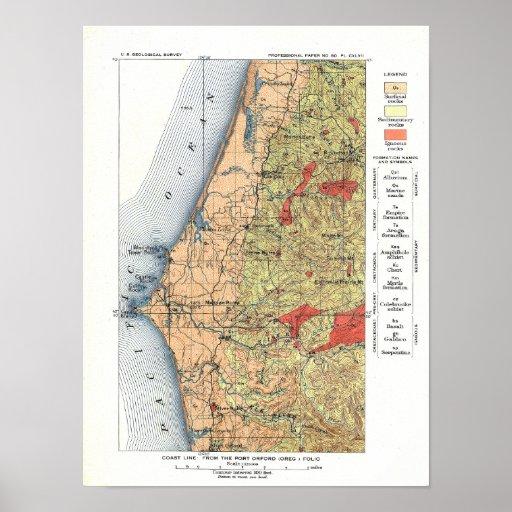 US Geological Survey Map Print