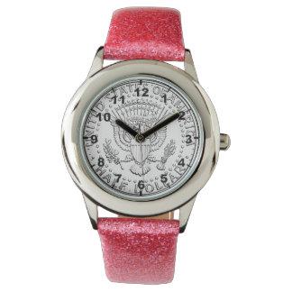 """""""US Half Dollar Coin"""" design wrist watches"""