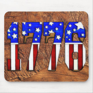 US Independence Day 1776 Mouse Pad