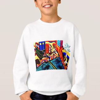 US & Japanese landscape nightmare Sweatshirt