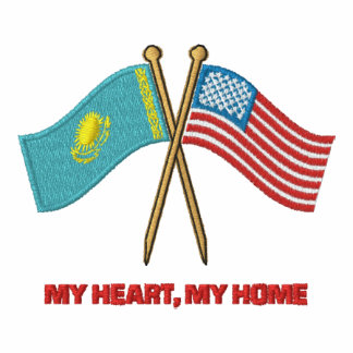 US-Kaz Dual Flags Hoody