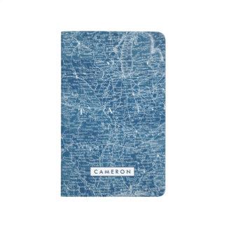 US Map Blueprint Journal