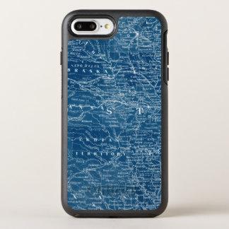 US Map Blueprint OtterBox Symmetry iPhone 7 Plus Case