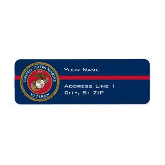 US Marine Corps - Veteran Blue